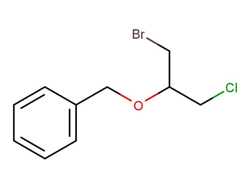 ((1-Bromo-3-chloropropan-2-yloxy)methyl)benzene