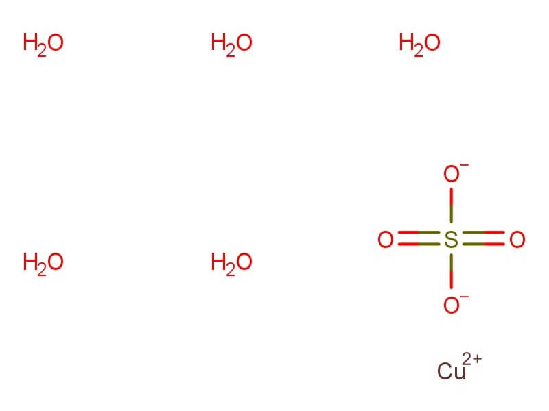 Info Copper Sulphate Chemryt Informatics
